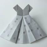可愛い折り紙・ワンピース