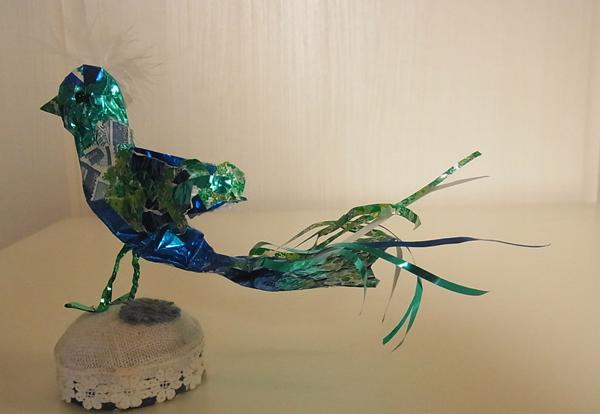 青い鳥クラフト全身
