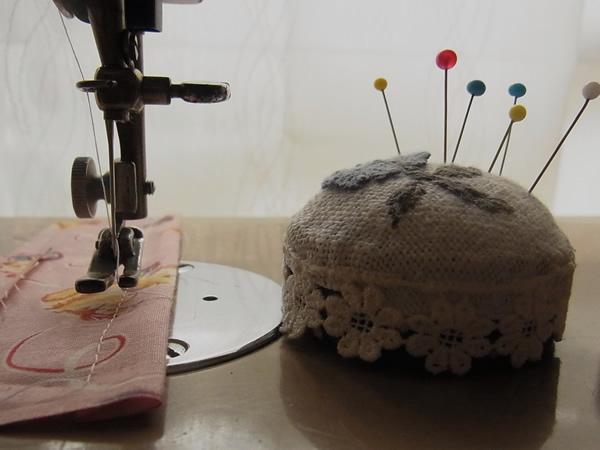 三つ折り縫いの方法