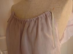 リメイクキャミソールの衿グリゴム