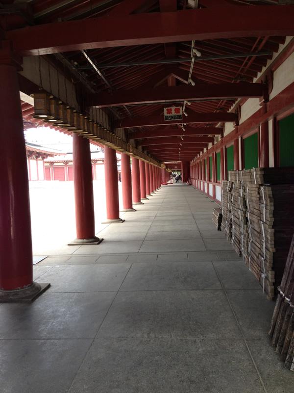 四天王寺の境内