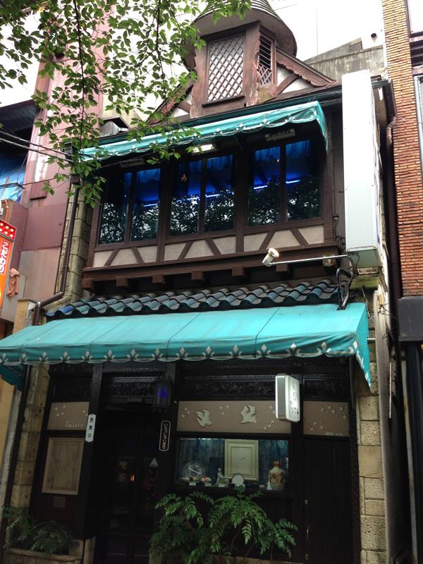 喫茶店ソワレ外観