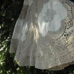 アンティークかぎ針編みスカート
