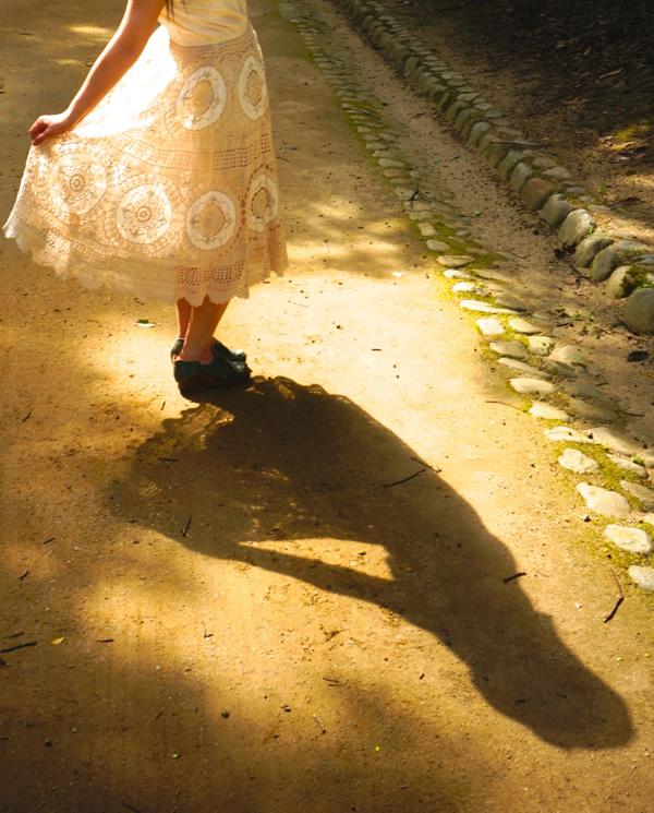 ワンピースの影