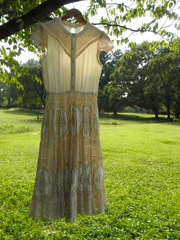 かぎ針編みワンピース