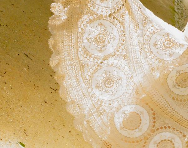 かぎ針編みスカート