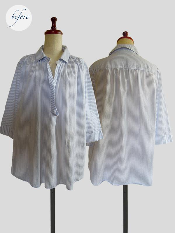 リメイク前のシャツ