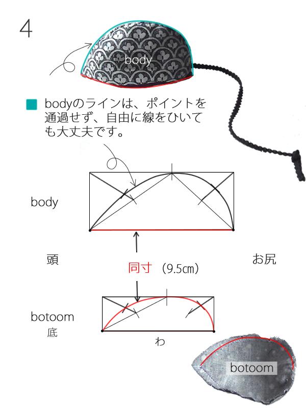 ねずみのパターン4