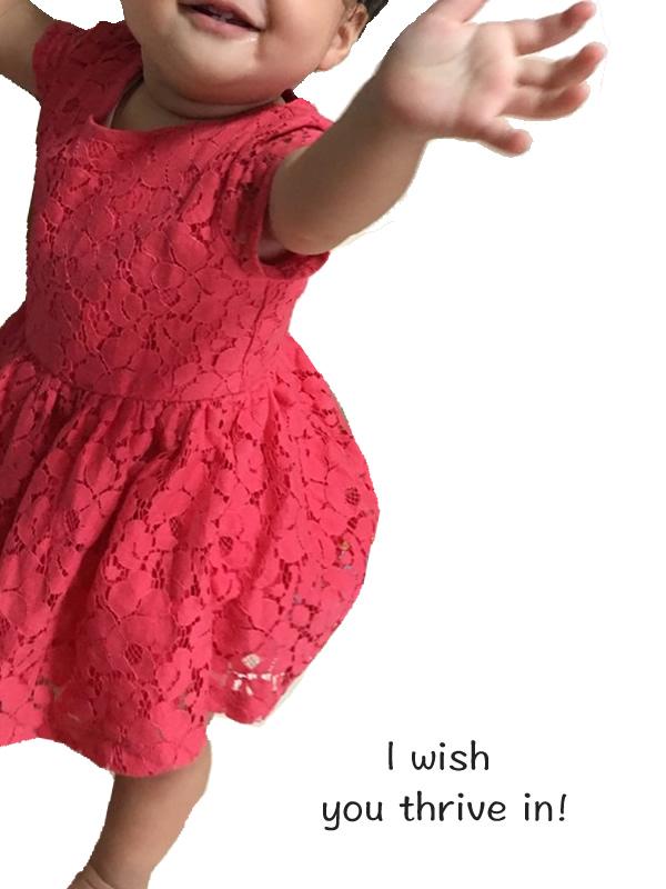 一歳のベビー