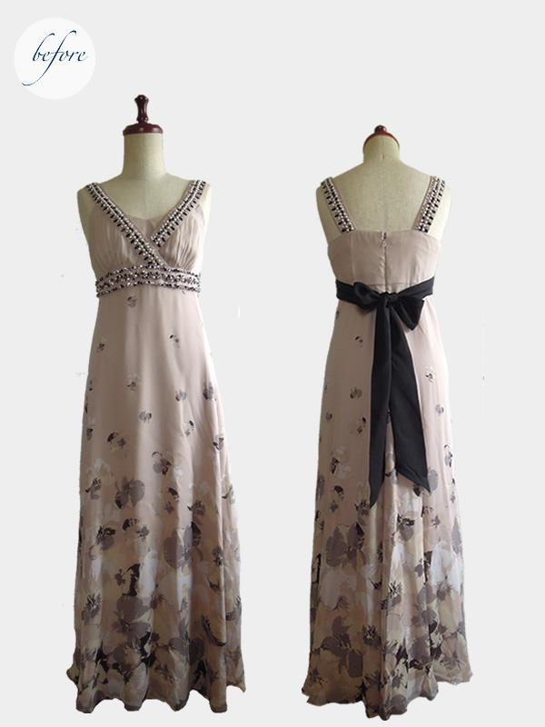 リメイク前のドレス