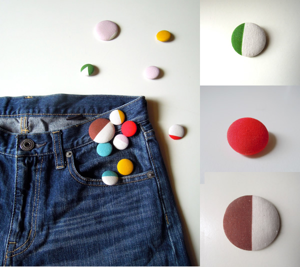 くるみボタンの作り方