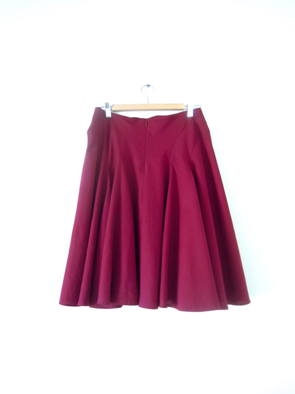 秋色スカート