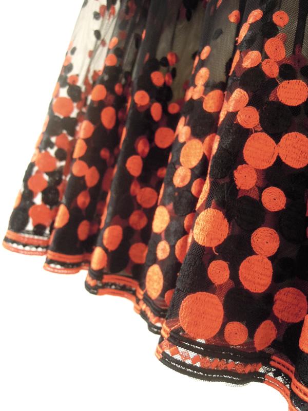 リメイク前のチュールスカート