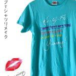 ライブTシャツリメイク・キスマイ