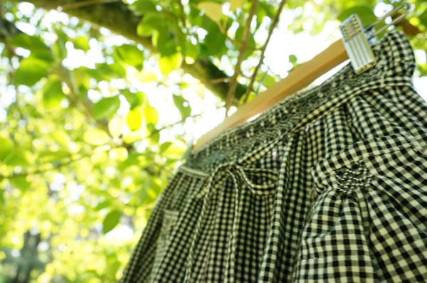 リメイクスカートのウエスト部分写真
