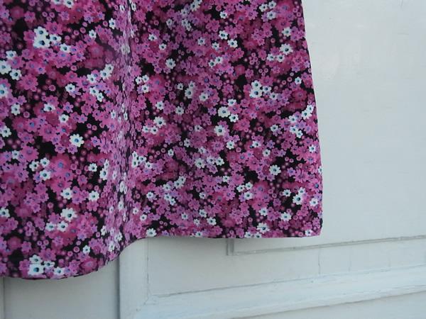 リメイクスカートの裾