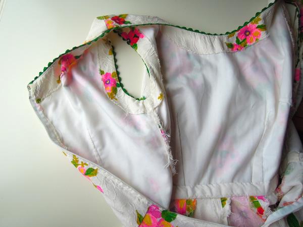 リメイク前のサマードレスの裏