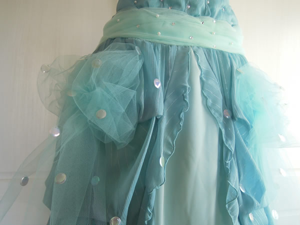 ワンピから舞台用スカート完成写真