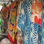 東寺弘法市・アンティーク着物を探しに