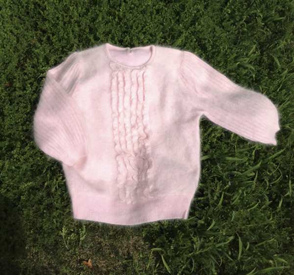 セーターからベスト作り方