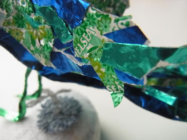 紙で作るしあわせの青い鳥