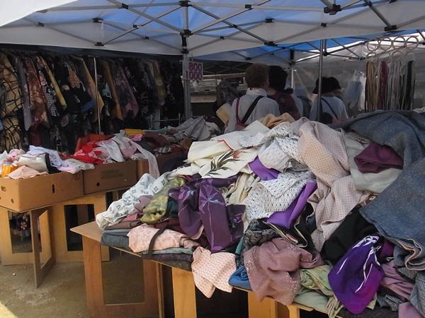 四天王寺の着物の売り場
