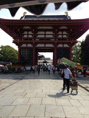 四天王寺蚤の市の写真