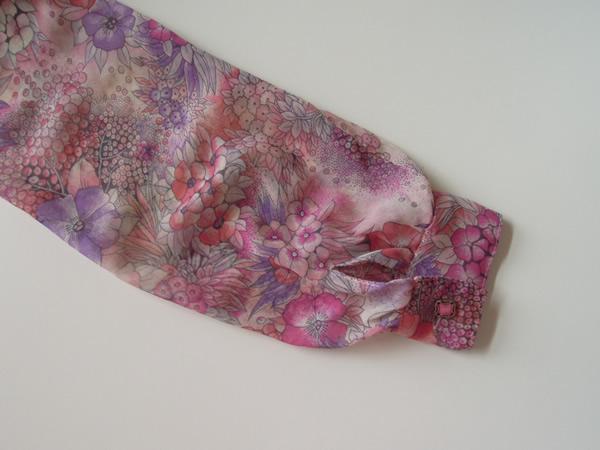 アンティークワンピースの袖