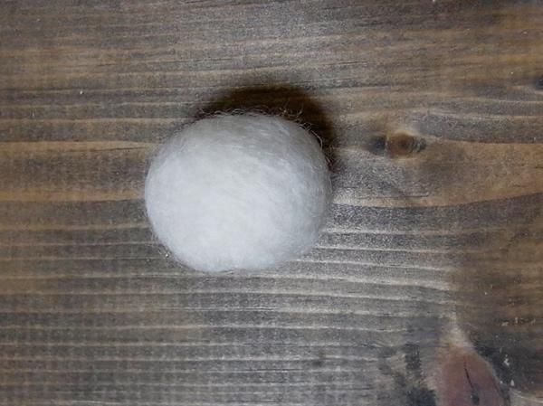 フェルトボールの作り方