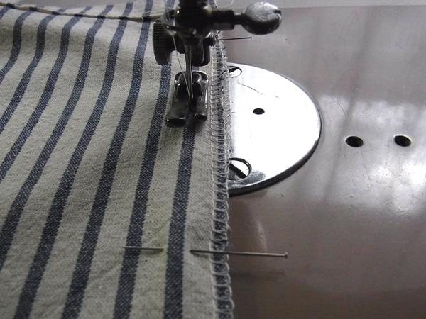 リメイクの縫製