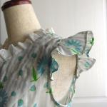 袖フリルのパターン作り方