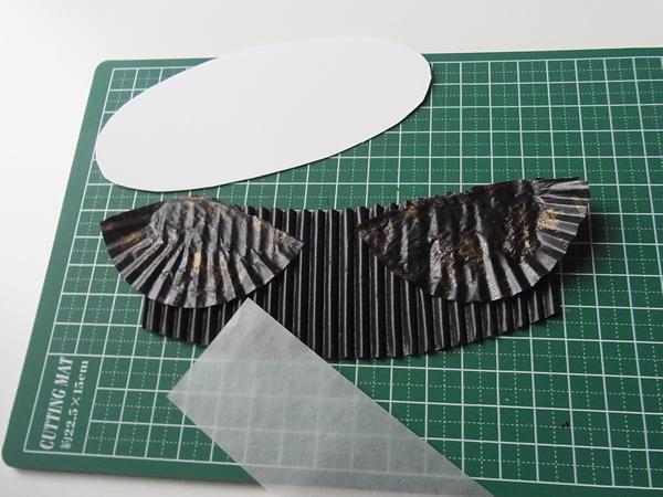 リメイクバースデーカードの紙の材料