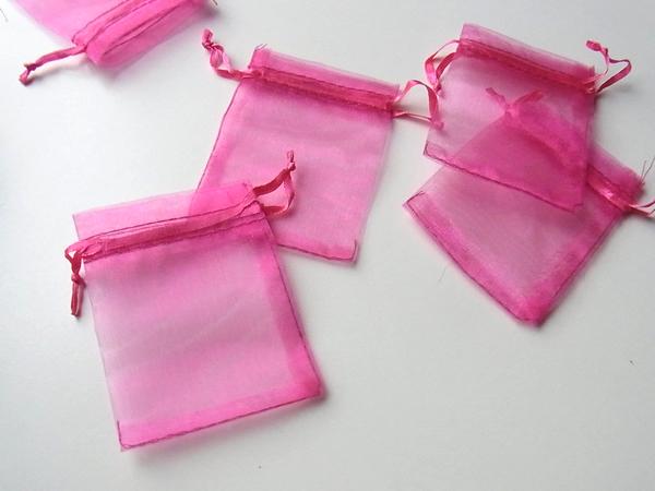 オーガンジーのラッピング袋