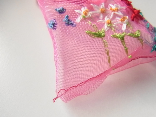 バレンタインラッピング袋作り方の裏