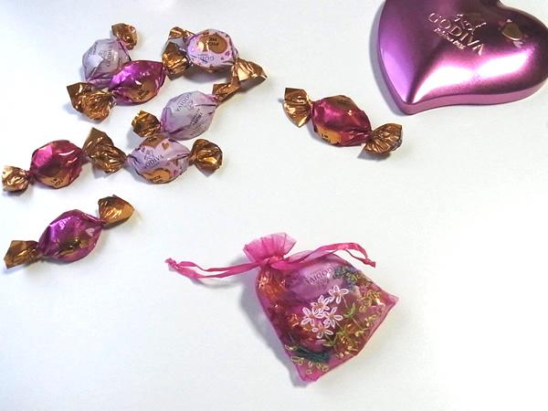 バレンタインチョコラッピング
