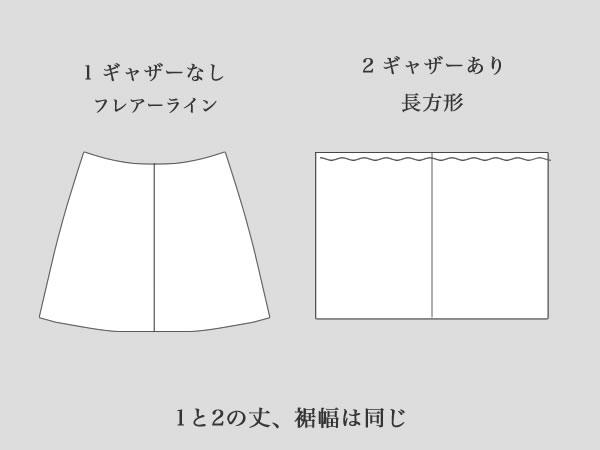 裏スカート2種類