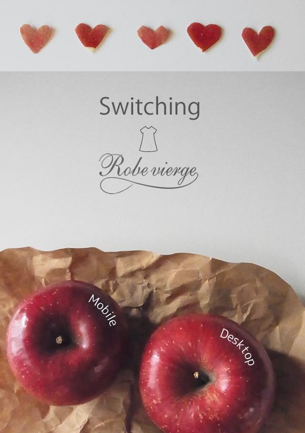 モバイル用の画面表示が変わりました!