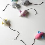 手作り猫おもちゃ・ねずみ作り方