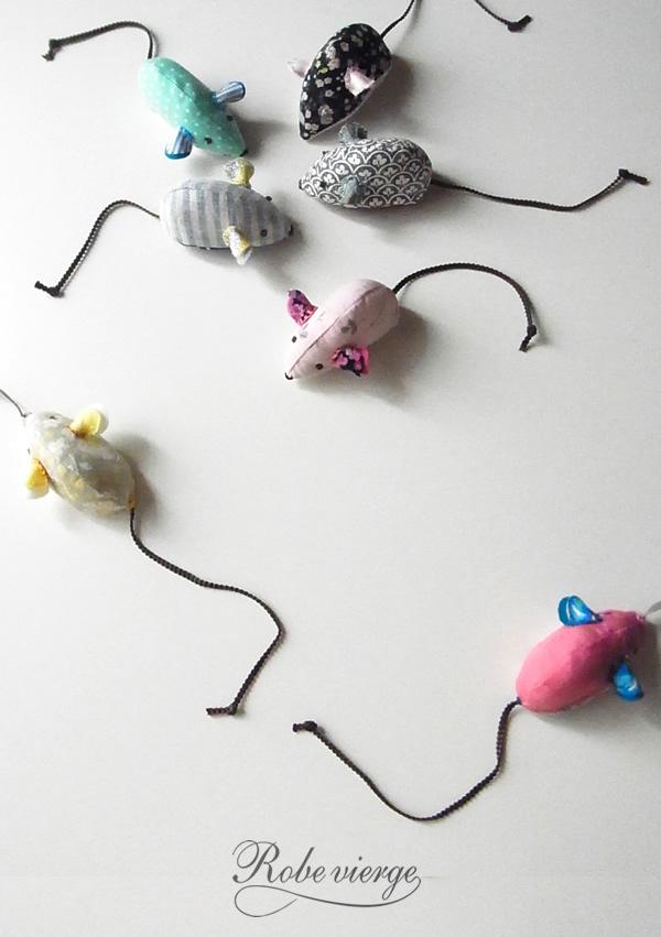 猫のおもちゃ・ねずみの作り方