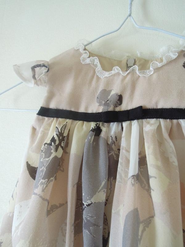 リメイクベビードレスの完成