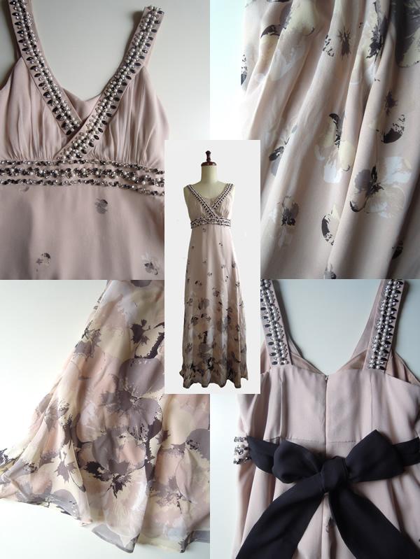 リメイク前のロングドレス