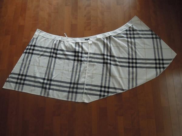リメイク前の巻きスカート