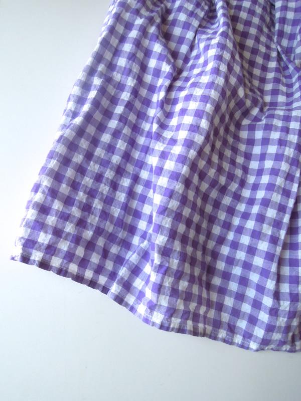 チュニックのスカート部分