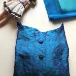 ハギレリメイク・シンディ人形ドレス